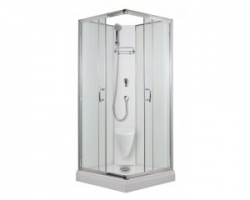 Arttec SMARAGD - sprchový box model 2 chinchila
