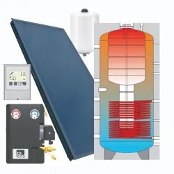 Solární kit pro ohřev TV - IVAR.KIT SOLAR