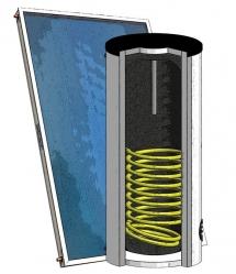 Solární sestava pro ohřev vody SOL 250/1 16790