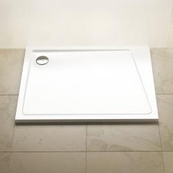 Sprchová vanička RAVAK Gigant Pro 10°, 100x80 cm, white