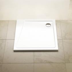 Sprchová vanička RAVAK Perseus Pro 10°, 80x80 cm, white