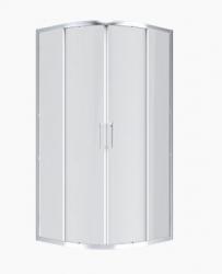 Anima Sprchový kout Siko TEX čtvrtkruh 100 cm, R 550, čiré sklo, chrom profil, univerzální