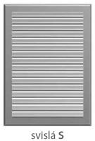 Atrea Stěnová větrací mřížka hliníková - ELOX SMU 275x400 mm