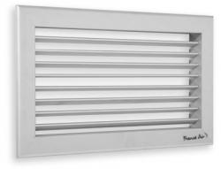 2VV Stěnová vyústka pro přívod teplého a studeného vzduchu GAC10