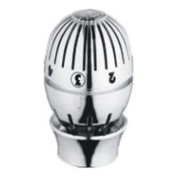 Giacomini T470C Termostatická hlava kapalinová, leštěný chrom, Clic-Clap