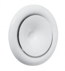 Talířový ventil kovový, přívodní bílý - KE