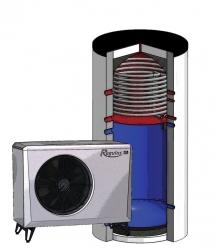 Regulus Tepelné čerpadlo vzduch/voda s kombinovanou nádrží EA 410 HSK  16577