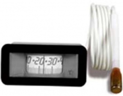 Regulus Teploměr 0-120°C, kapilára 1 m, 31x64 mm, černý 1181