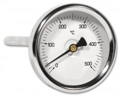 """Ivar CS Teploměr axiální pro vyšší teplotu IVAR.TP 500, 0° C až + 500° C, zadní napojení 1/2"""", bez jímky"""