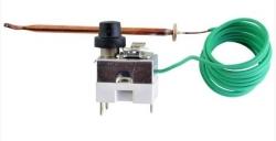 Regulus Termostat havarijní, nastavitelný, 95H090R02, reset manuální, kapilára 1,5m, přepínací 10745