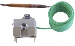 Termostat provozní 0-90°C, ovládání šroubovák, kapilára 1,5m 10780