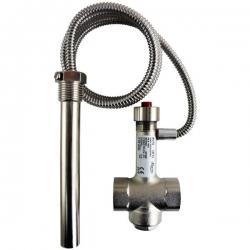 Regulus Termostatický dochlazovací ventil BVTS, poniklovaný povrch 14713