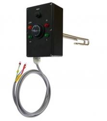 """Regulus Elektrické topné těleso s termostatickou hlavicí EET-D, 6/4"""" M, typ D"""
