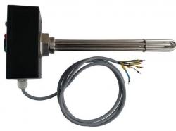 """Regulus Elektrické topné těleso s termostatickou hlavicí, ETT-F,  G 6/4"""" M, pro PVE"""