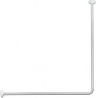 Olsen-Spa Tyč sprchového závěsu rohová, bílá KD02100816 : 80 × 94–180 cm