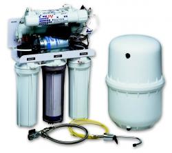 Ivar CS Úpravna vody s reverzní osmózou, filtrací - 38x46x25mm - IVAR.OSMO 250