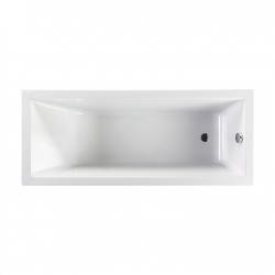 JIKA Vana akrylátová Cubito Pure 221420, 160x75 cm, bílá