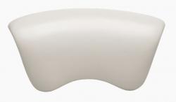 Laguna Vanový podhlavník standard, bílý