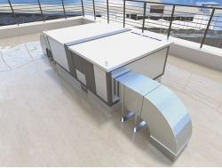 Atrea Větrací jednotka s rekuperací tepla DUPLEX 1500 – 8000 Multi-N
