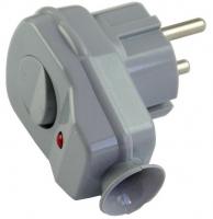 Regulus VSV-S Vidlice s vypínačem stříbrná 11840