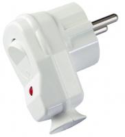 Regulus VSV-W Vidlice s vypínačem bílá 11841