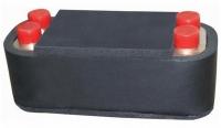 Regulus Nerezový deskový výměník tepla DV285-45E izolovaný 9555