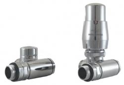 Hydronic Kompletní připojovací termostatická sada Integra, boční připojení, Cu 15x1