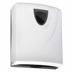 Zásobník papírových ručníků 260x320mm plast bílý ZASRUPLAST